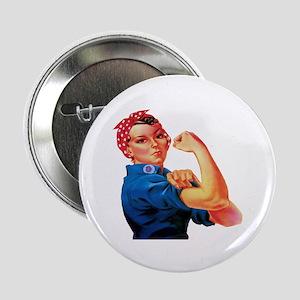 "Rosie the Riveter 2.25"" Button"