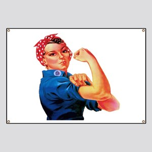 Rosie the Riveter Banner
