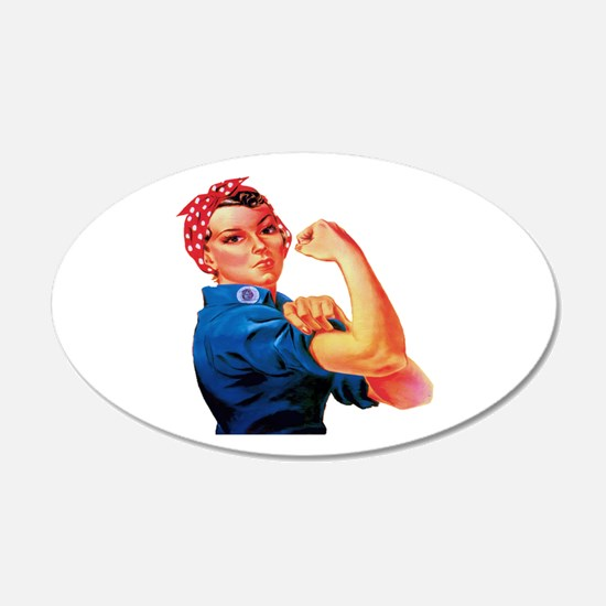 Rosie the Riveter Decal Wall Sticker