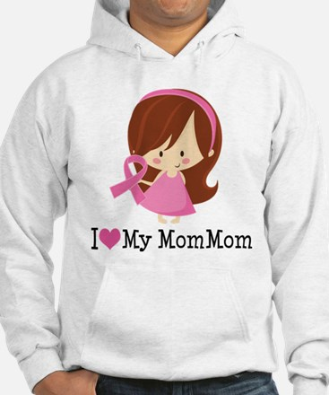 MomMom Breast Cancer Support Hoodie
