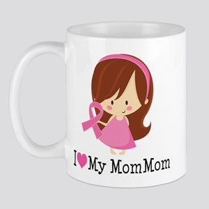 MomMom Breast Cancer Support Mug