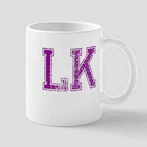 LK, Vintage Mug