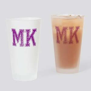 MK, Vintage Drinking Glass