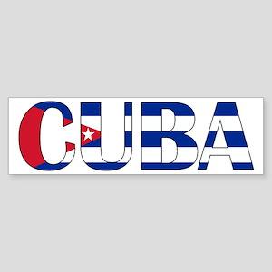 Cuba Sticker (Bumper)