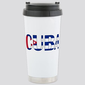 Cuba Stainless Steel Travel Mug