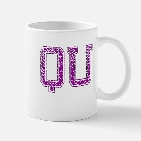 QU, Vintage Mug