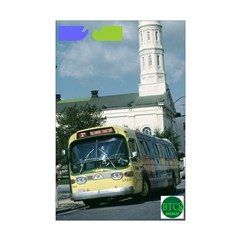 Baltimore Tour Bus Posters