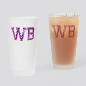 WB, Vintage Drinking Glass