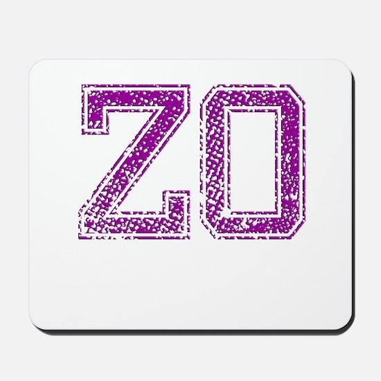 ZO, Vintage Mousepad
