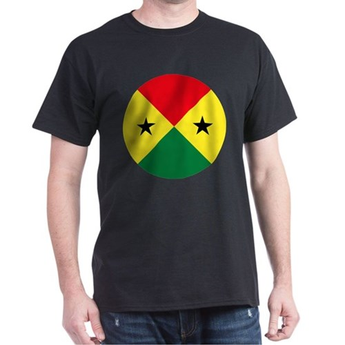 Sao Tome And Principe Roundel T-Shirt
