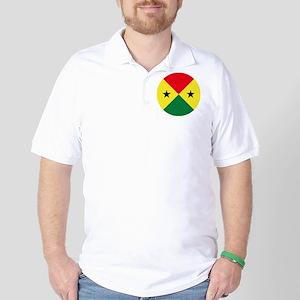 Sao Tome And Principe Roundel Golf Shirt