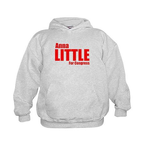 Little for Congress - Main logo Kids Hoodie