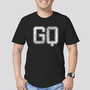 GQ, Vintage Men's Fitted T-Shirt (dark)