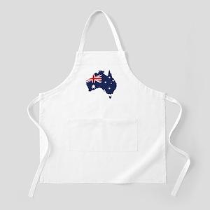 Flag Map of Australia Apron