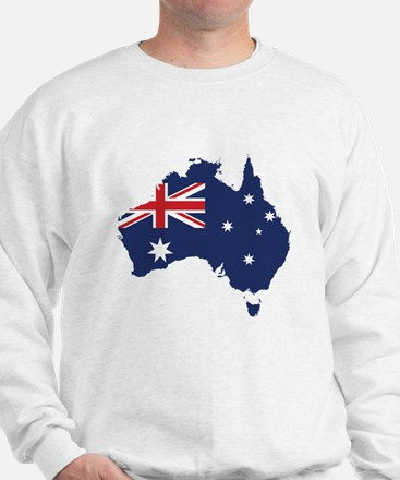 Flag Map of Australia Jumper