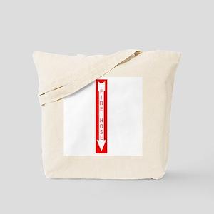Fire Hose Tote Bag
