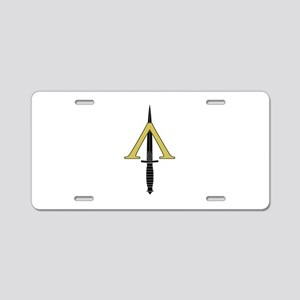 Shadow Warrior Aluminum License Plate