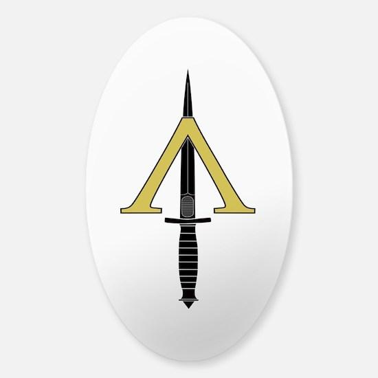 Shadow Warrior Sticker (Oval)
