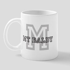 Mt Baldy (Big Letter) Mug