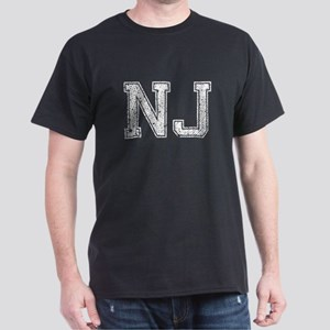 NJ, Vintage Dark T-Shirt