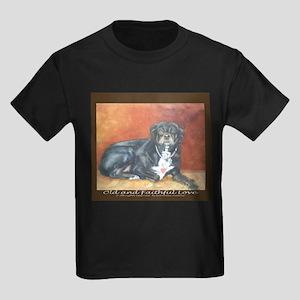 Old and Faithful Love Kids Dark T-Shirt