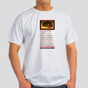 FATMOUSE Ash Grey T-Shirt