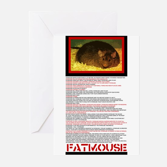 FATMOUSE Greeting Cards (Pk of 10)