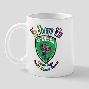 St. Bernard SWAT Mug