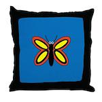CALLA BUTTERFLY Throw Pillow