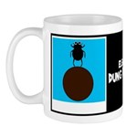 ELEANOR DUNG BEETLE W/BIO ON BACK Mug