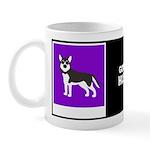 GORDON HUSKY W/BIO ON BACK Mug