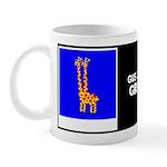 GUS & RUSS GIRAFFE W/BIO ON BACK Mug