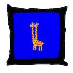 GUS & RUSS GIRAFFE Throw Pillow