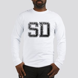 SD, Vintage Long Sleeve T-Shirt