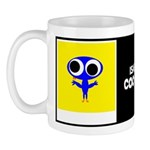 ISABELLA COO-COO W/BIO ON BACK Mug