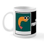 LOOPY FRIED SHRIMP W/BIO ON BACK Mug