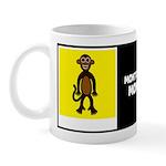 MONTGOMERY MONKEY W/BIO ON BACK Mug