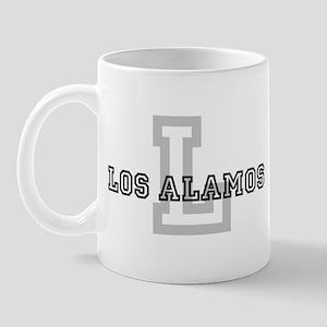 Los Alamos (Big Letter) Mug