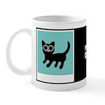 PIXIE CAT W/BIO ON BACK Mug