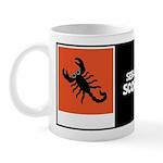 SEBASTIAN SCORPION W/BIO ON BACK Mug