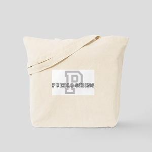 Pueblo Siding (Big Letter) Tote Bag