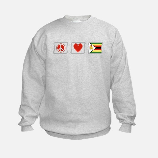 Peace Love and Zimbabwe Sweatshirt
