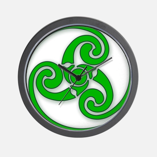 Celtic Spiral Wall Clock