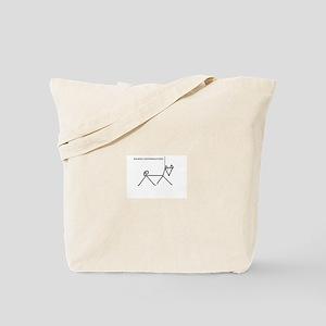 Basenji Conformation Tote Bag