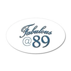 Fabulous at 89 Wall Decal