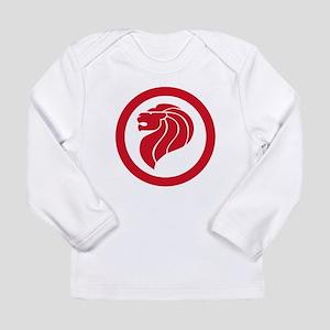 Singapore Lion Roundel Long Sleeve Infant T-Shirt