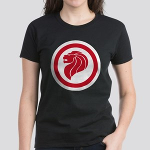 Singapore Lion Roundel Women's Dark T-Shirt