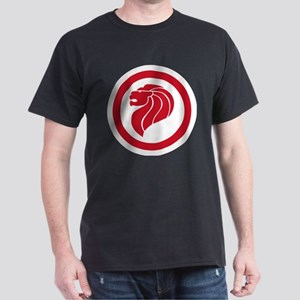 Singapore Lion Roundel Dark T-Shirt