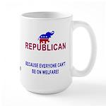 Republican Large Mug