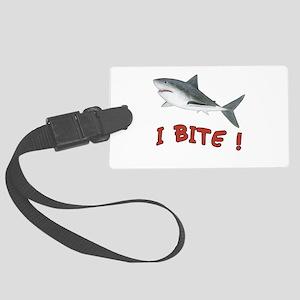 Shark - I Bite Large Luggage Tag